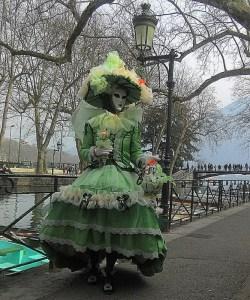 annecy, carnaval comme à Venise