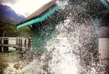 Saint-jorioz sous la tempête