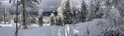 À l'aventure dans la neige
