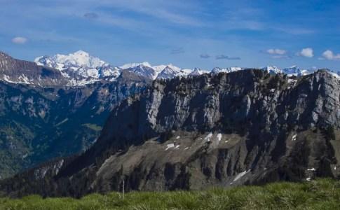 Mont-Blanc et montagnes