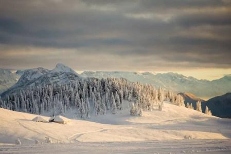 semnoz lumière d'hiver