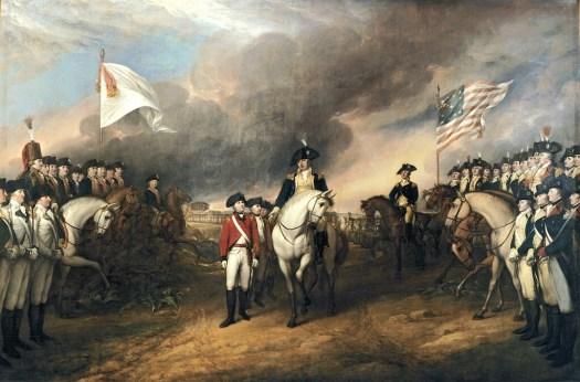 Cornwallis Surrenders at Yorktown by John Trumbull