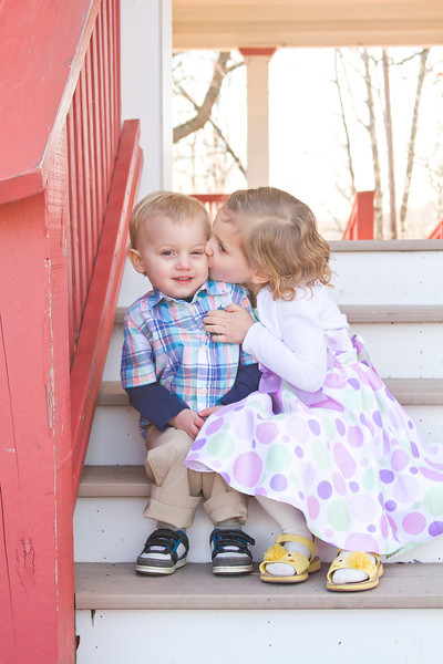 I just love photographing siblings. How sweet are these two!