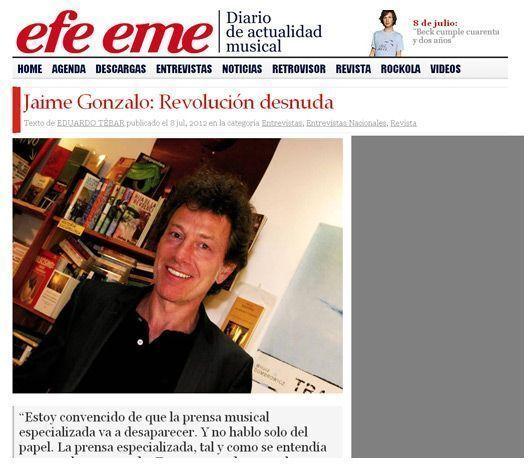 Entrevista Efe Eme