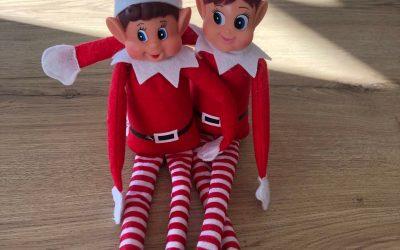 La tradition Elf on the Shelf