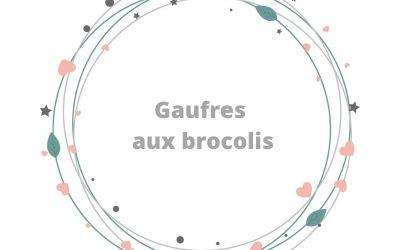 Gaufres salées aux brocolis