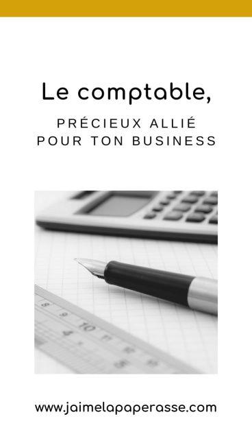 Le comptable est un précieux allié dans ton business, incontournable lorsqu'il se développe. À quel moment devient-il indispensable ? Un article de J'aime la paperasse. #entrepreneuriat