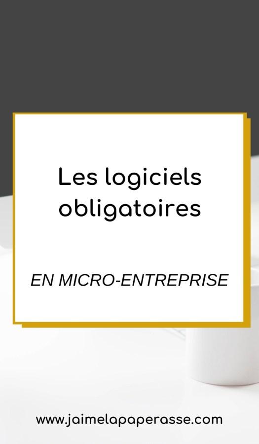 Micro-entreprise : les logiciels obligatoires, pour ta facturation, comptabilité, gestion... on fait le point. Article de J'aime la paperasse #microentreprise #autoentrepreneur #entrepreneuriat