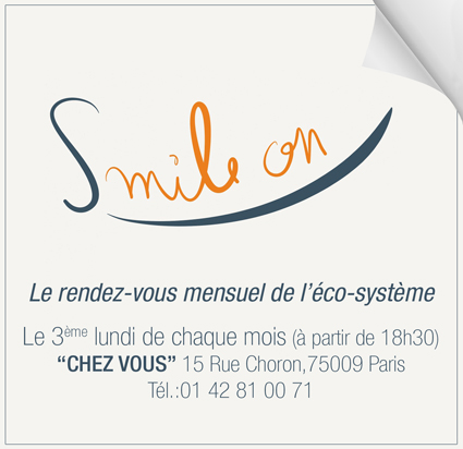 """""""Smile on"""" smile on """"chez vous"""""""