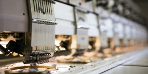 Fabric industry production line