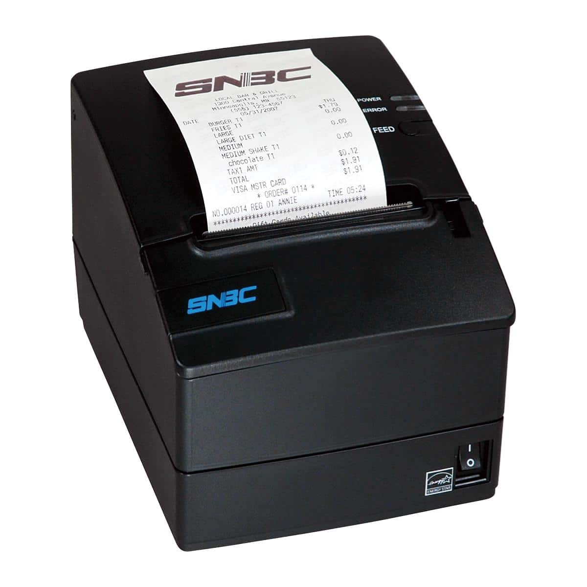 SNBC Printer BTP-R180II USB+Serial+Ethernet| JaimePOS A Leading POS & Merchant Services Provider