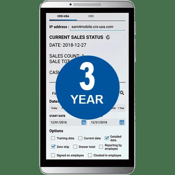 Sam4POS Mobile App - 3 Year License  JaimePOS A Leading POS & Merchant Services Provider