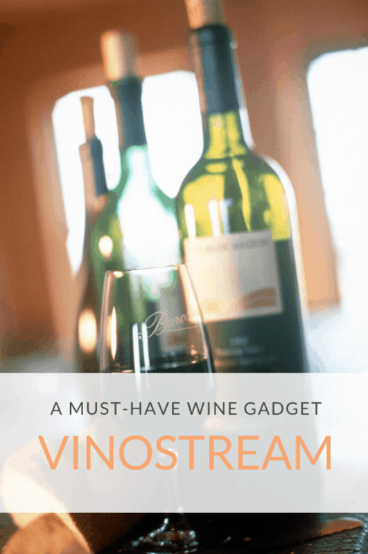 My Newest Wine Gadget: The VinOstream