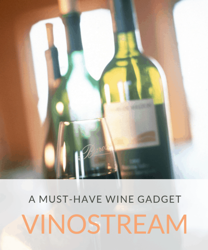 Looking for a wine gadget or gift for a loved one? Check out the VinOstream