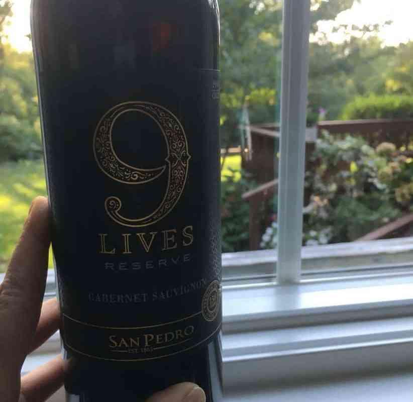 9 Lives Wine.