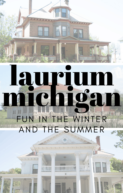 Heading up to Copper Harbor on the Keweenaw Peninsula? Make sure to stop in Laurium Michigan for the gorgeous history and great snowshoe trails! | Michigan Upper Peninsula | Copper Country |Quiet Travel Laurium Michigan | Laurium