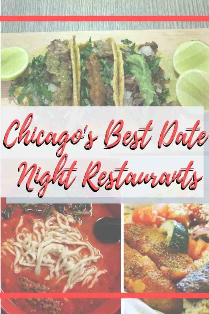 With Valentine's Day behind us, it's time to mention my favorite Chicago date night restaurants. They aren't gimmicky and make for a great date night restaurant in Chicago. #Chicago #datenight