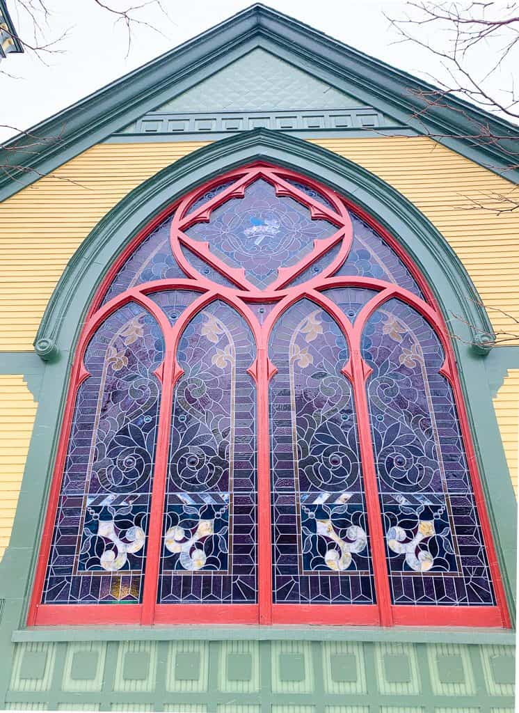 Crooked Tree Arts Center in Petoskey Michigan. Visit as one of the things to do in Petoskey
