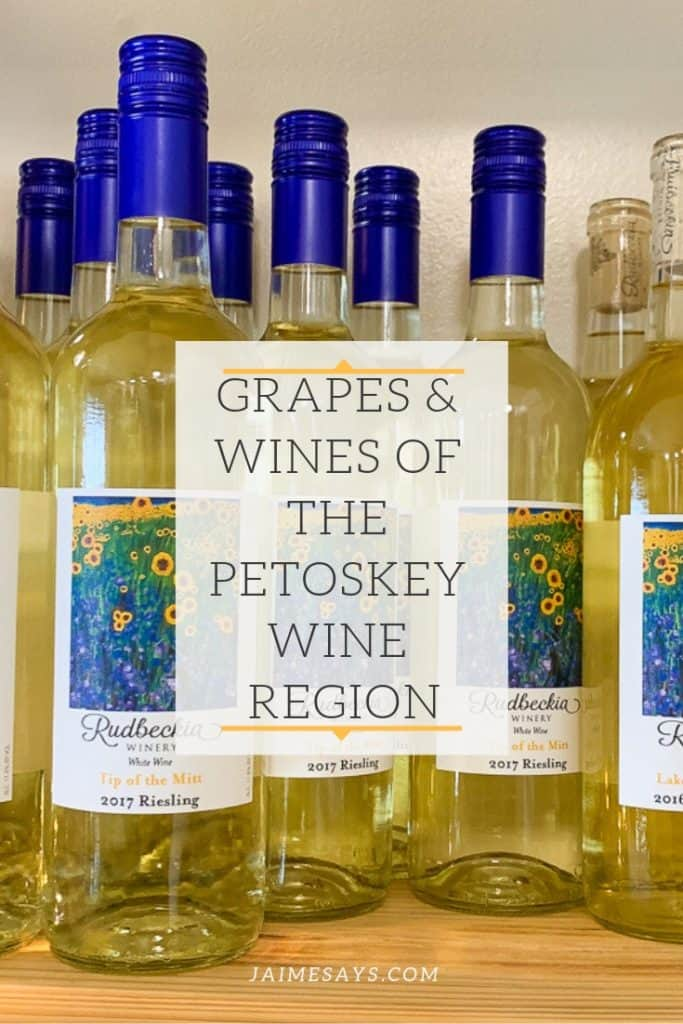 Grapes and Wines of the Petoskey Wine Region are the newest American Viticulture Area (AVA) of Michigan.  Take a peek at what to expect in #petoskey #wine #michigan