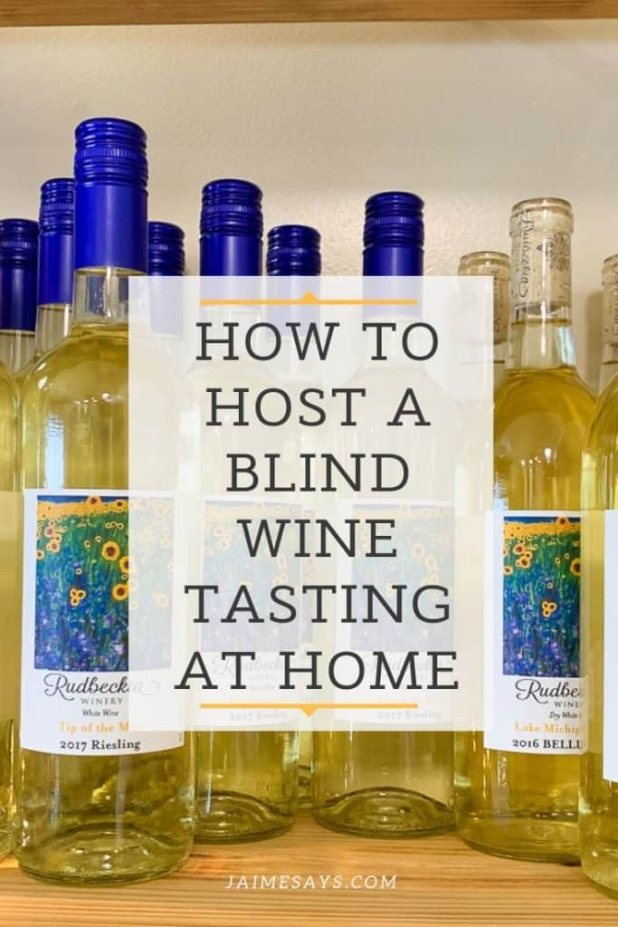 How to host a blind wine tasting at home