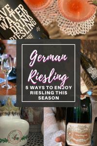 German Riesling Wine Pin