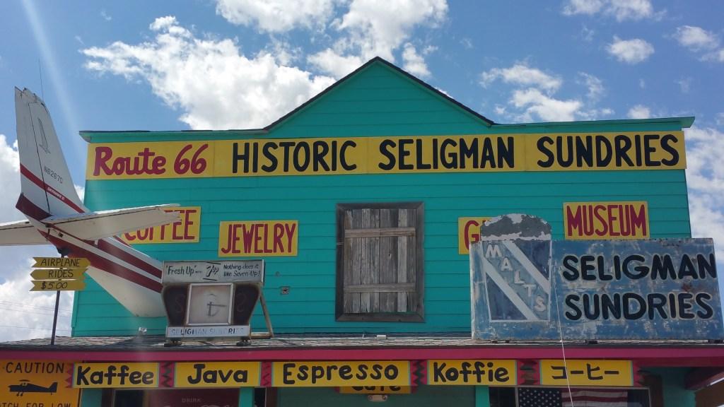 SELIGMAN ROUTE 66 USA