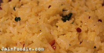 Jain Lemon Rice