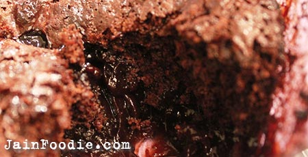 Jain Molten Chocolate Lava Cake