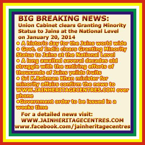 Jains Minority Status