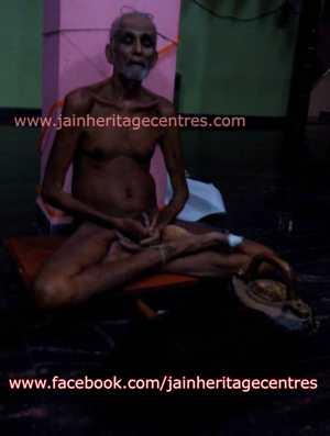 Padmasena Muni Maharaj who attined Samadhi at Tamadaddi on April 5, 2014
