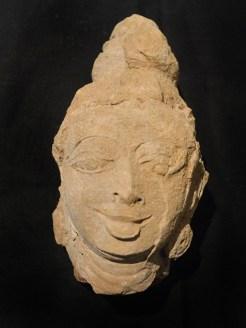 A terracotta figure found during the scientific clearance. Photo:K. BHAGYA PRAKASH