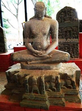 Lord Adinath, Yaliyur, Karnataka, 12th Century A.D.