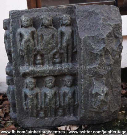 Ruined Jain artefacts - Jain Museum