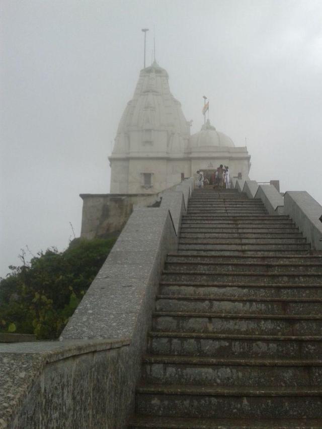 A view of Parshwanath/Parasnath Kuta/Tonk at Jain Pilgrim site, Sammedha Shikarji, Jharkhand.