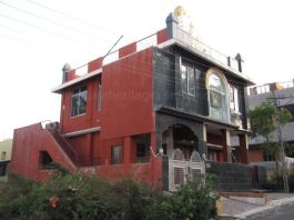 A view of Suvarna Parshwanath Swamy Digambar Jain temple at Rajarajeshwarinagar, Bengaluru.