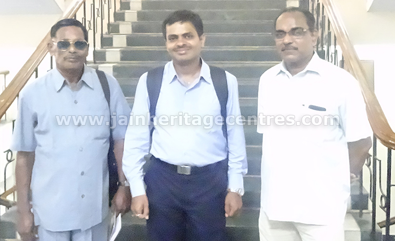 Sri M D Rajendran & Nitin H P founder of JHC with  Dr. A. Ekambaranathan