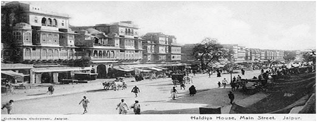 Historical pictures of Jaipur