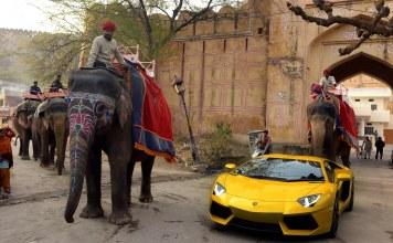 Lamborghini in Jaipur