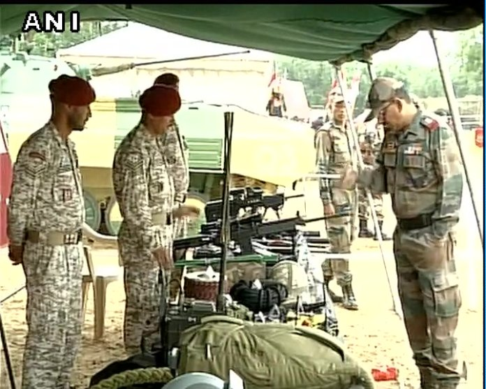 know your army exhibition in jaipu