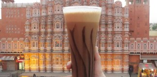 Cold coffee in Jaipur