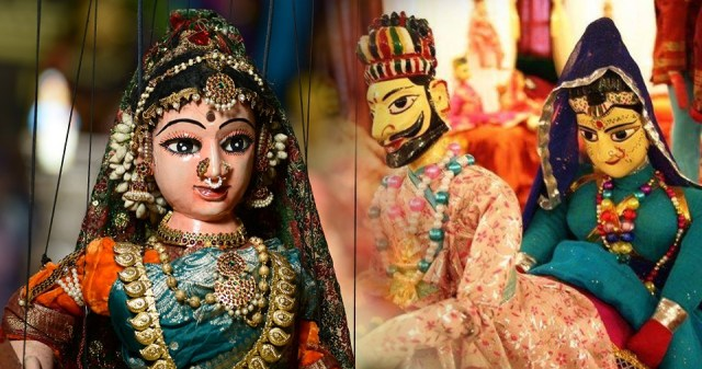 Puppets in Jaipur
