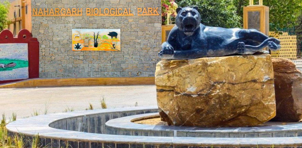 Exotic Park in Nahargarh Biological Park
