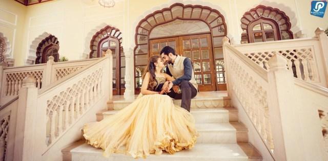 Pre Wedding Shoot Taj Rambagh Palace
