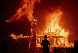 Fire flames engulf a chemical factory in Jaipur
