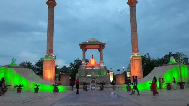 amar jawan jyoti jaipur light show