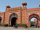 seven gates of walled city of jaipur