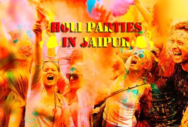 Holi parties in Jaipur