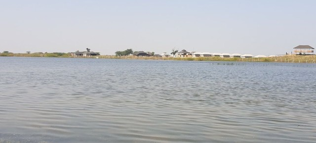 Sambhar Lake best camping place in Rajasthan