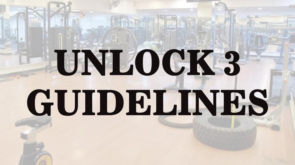 Unlock 3 guidelines