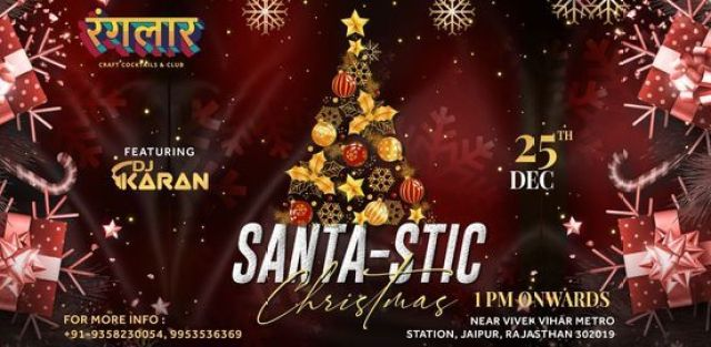 Ranglaar Santa-Stic Christmas